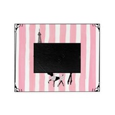A walk in Paris Pink Picture Frame