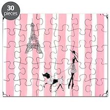 A walk in Paris Pink Puzzle