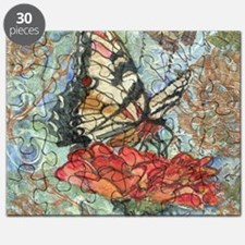 Yellow Butterfly Puzzle