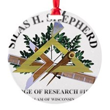 sILAS h. sHEPHERD lODGE OF rESEARCH Ornament