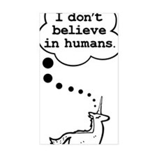 I dont believe in humans Decal