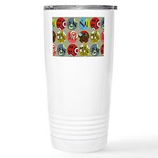 Colorful RN Polkadots Travel Mug