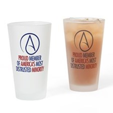 Distrusted Minority Drinking Glass