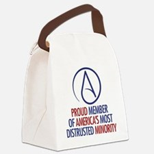 Distrusted Minority Canvas Lunch Bag
