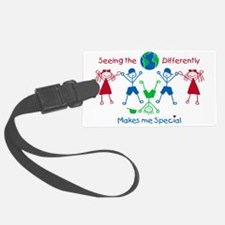 Seeing the World Differently Luggage Tag