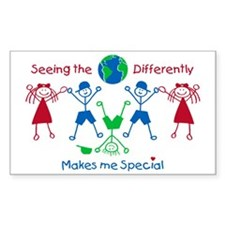 Seeing the World Differently Decal