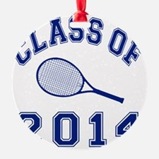 Class Of 2014 Tennis Ornament