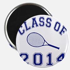 Class Of 2014 Tennis Magnet