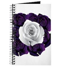 Black White Roses Journal