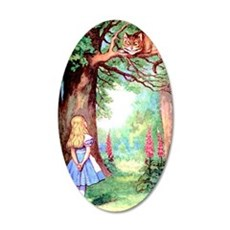 ALICE_12_10x14 35x21 Oval Wall Decal