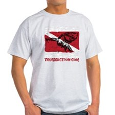 SHARK DIVER - BLACK T-Shirt