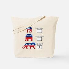 We are awake. Tote Bag