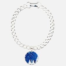 Blue Winter night Bracelet