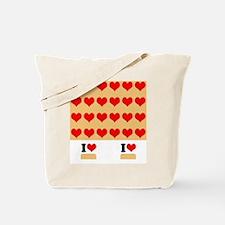 I heart twinkies Tote Bag