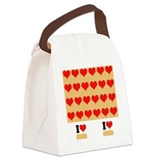 I heart twinkies Canvas Lunch Bag