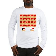 I heart twinkies Long Sleeve T-Shirt