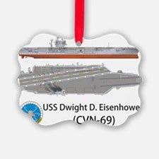USS Dwight D. Eisenhower (CVN-69) Ornament
