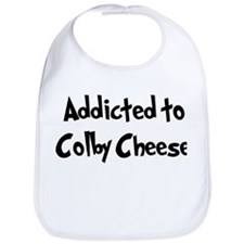 Addicted to Colby Cheese Bib