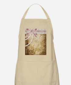 Vintage Pearls and Lace Apron