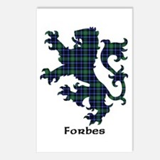 Lion - Forbes Postcards (Package of 8)