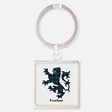Lion - Forbes Square Keychain