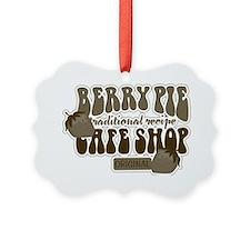 Berry Pie Shop Vintage Signs Ornament