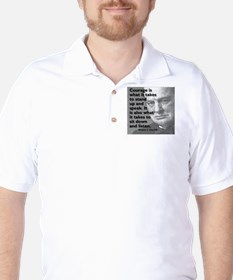 Churchill on courage T-Shirt