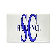 Florence South Carolina Rectangle Magnet