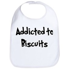 Addicted to Biscuits Bib