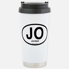 JO - Jordan oval Travel Mug