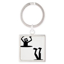 Illusion Square Keychain