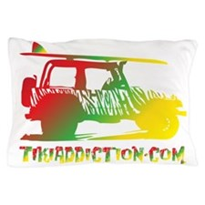 SURF JEEP - RASTA Pillow Case