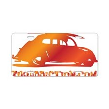 SURF BUG - VOLCANO Aluminum License Plate