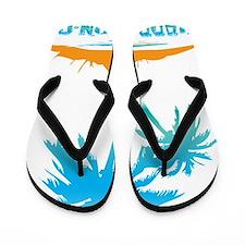 PALMS - PARADISE Flip Flops