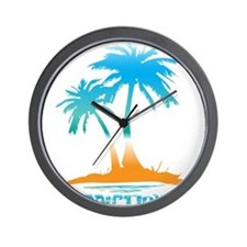 PALMS - PARADISE Wall Clock