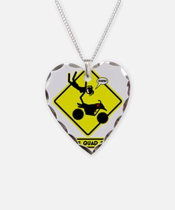 XTREME AIR STICKGIRL Yellow p Necklace