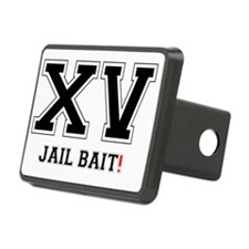 XV JAIL BAIT! Rectangular Hitch Cover