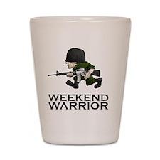 Weekend Warrior II - Military/Airsoft / Shot Glass