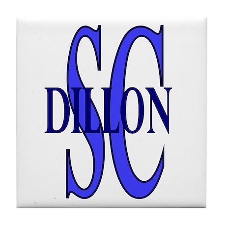 Dillon South Carolina Tile Coaster