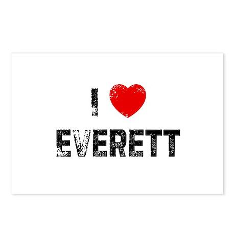 I * Everett Postcards (Package of 8)
