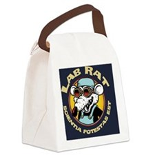 Lab Rat Canvas Lunch Bag