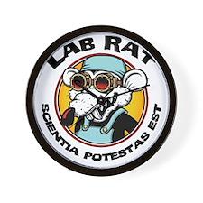 lab-rat2-LTT Wall Clock
