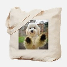 Goldendoodle Puppy Dog Tote Bag