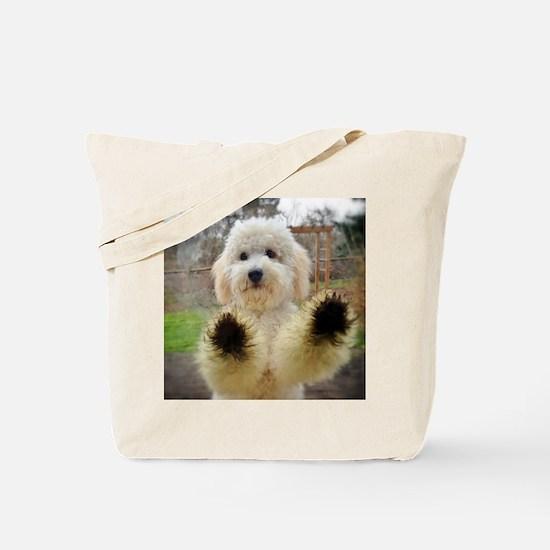 Goldendoodle Puppy Dog Tote Bag
