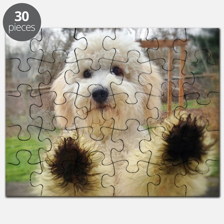 Goldendoodle Puppy Dog Puzzle