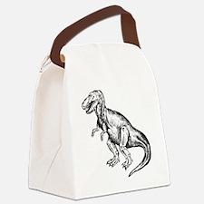 T-Rex Canvas Lunch Bag