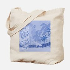 Surfing 60 Curtains Tote Bag