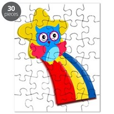 Owl in a rainbow Puzzle