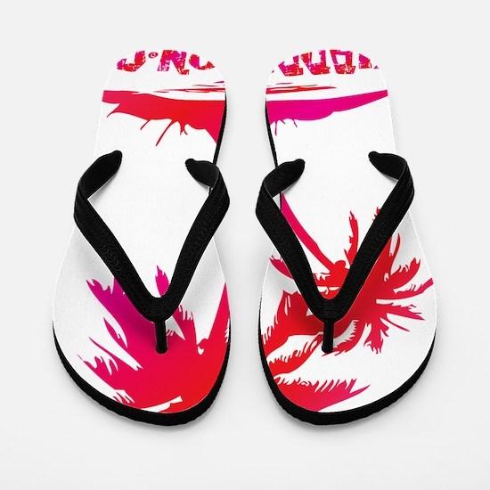 PALMS - RUM PUNCH Flip Flops