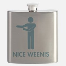 Nice Weenis - Blue Flask
